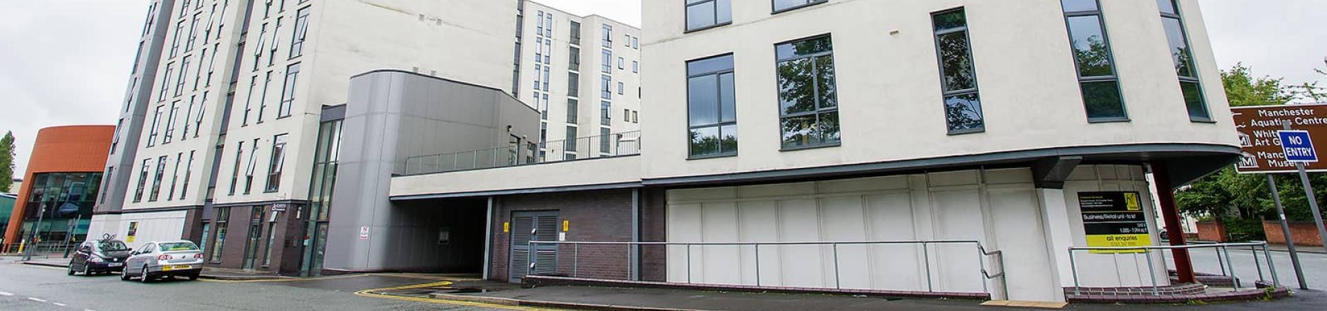 Grafton Street student accommodation, Manchester.