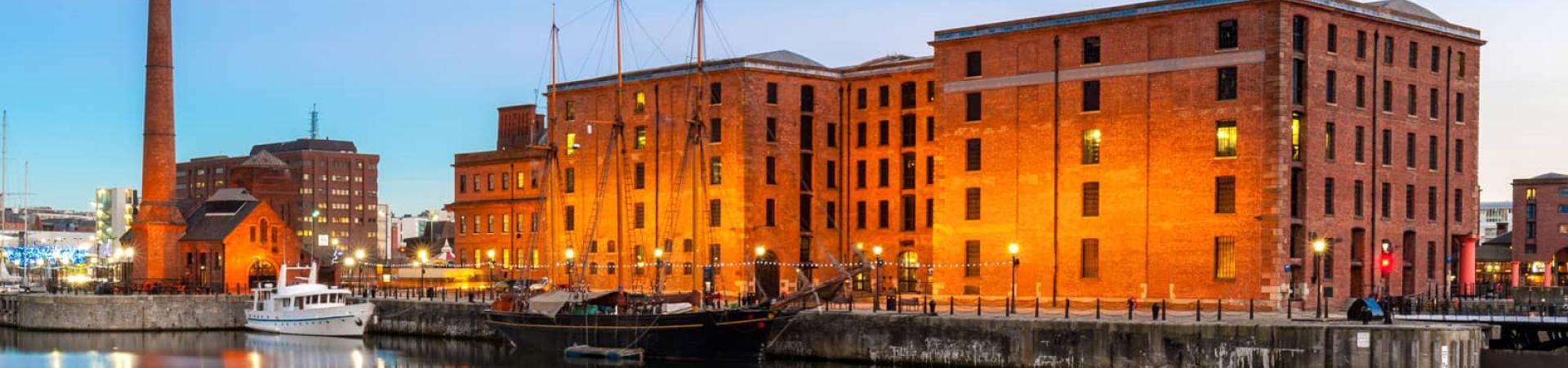 Albert Docks in Liverpool