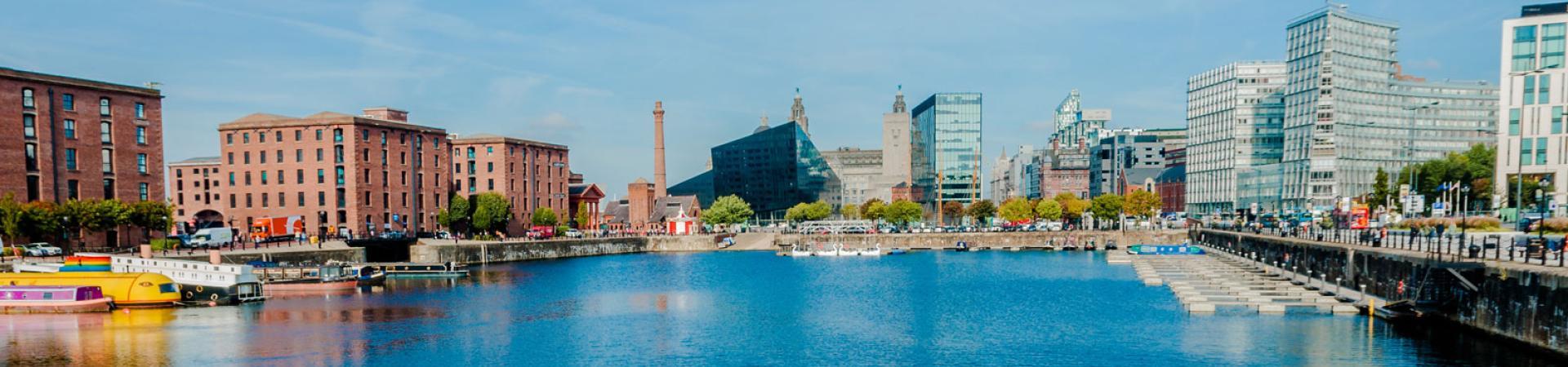 image of Liverpool docks
