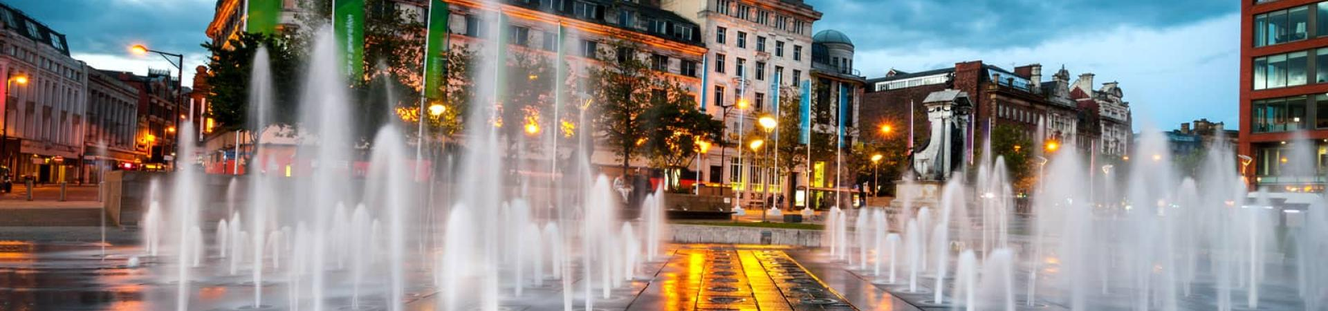 banner image of Piccadilly Square, Manchester
