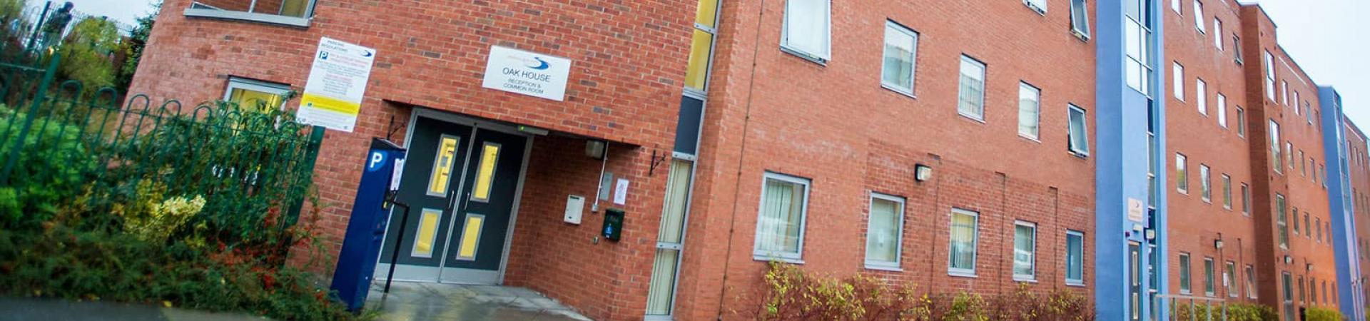 external banner for Oak & Willows House, Stratford-upon-Avon